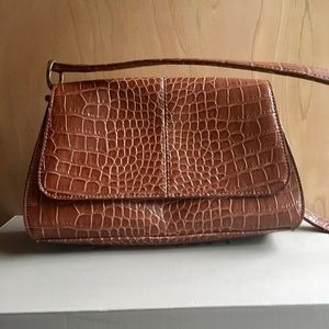 Liz Claiborne, Small, Alligator Print Tote. Cute:)